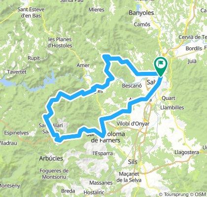 P17 Girona Hills Route