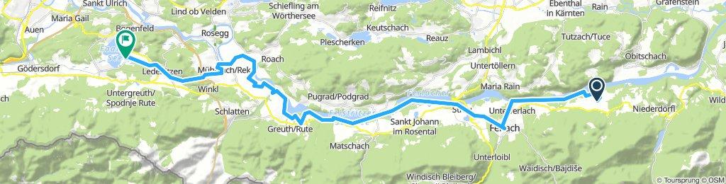 04 Rosental - Ferlach - Rosegg - Faaker See