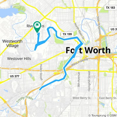 Moderate Morning Route In River Oaks