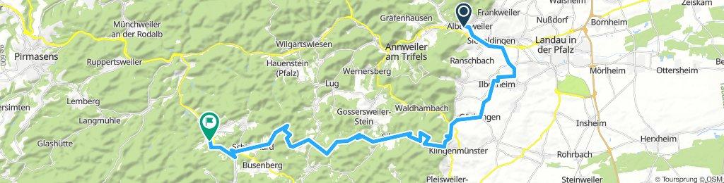 Albersweiler - Weinstrasse - Dahn
