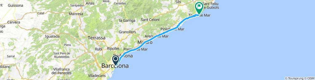 Barcelona - Tossa de Mar
