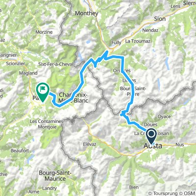Aosta - Aosta Day 1