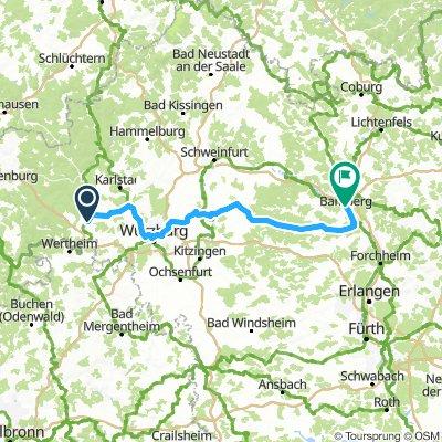 zwei Frankenradweg MAR-Bamberg