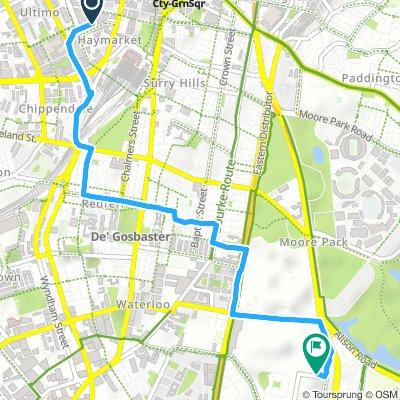 Short Thursday Route In Haymarket