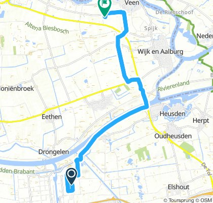 Easy Afternoon Ride In Waalwijk