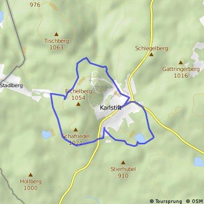 Eichelberg - Strecke