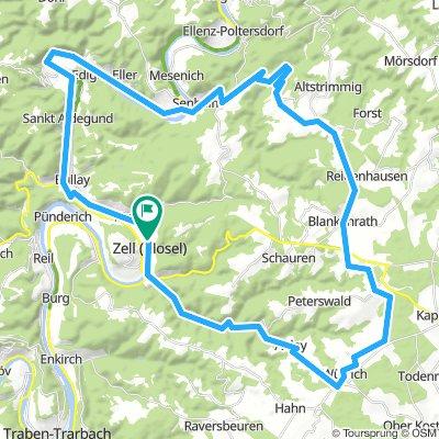 Zell - Blankenrath - Nehren - Alf