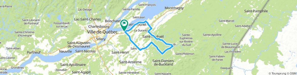 Beaumont - Armagh par St-Raphaël et St-Gervais