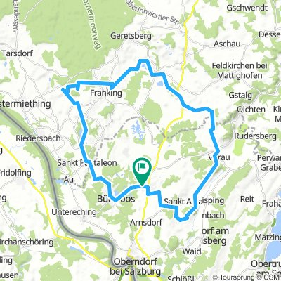 47 km Megaschöne Natur Tour