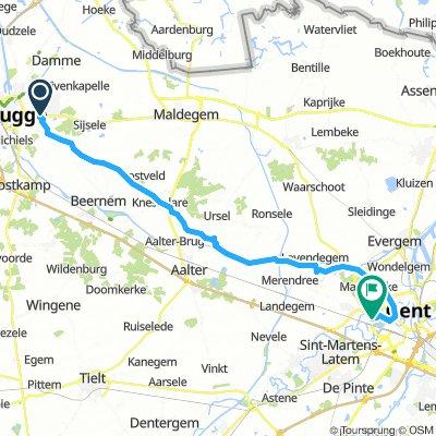 Bruges - Gand