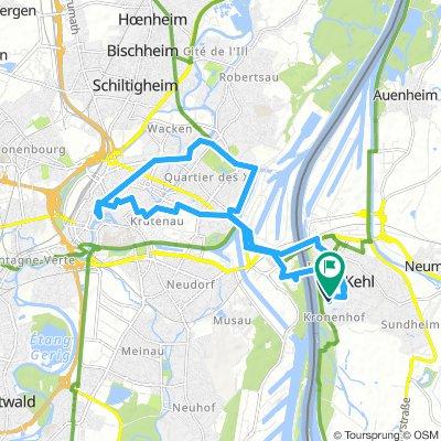 Kehl-Strasbourg-Tour