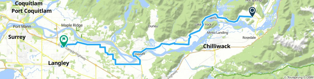 2018-09: Agassiz to Fort Langley