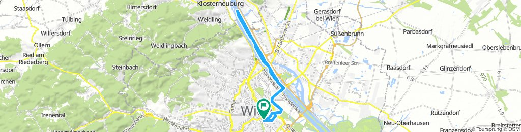 Steady Saturday Route In Vienna