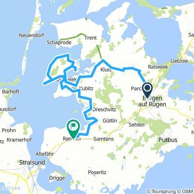 Bergen - Umanz - Rampin 70km