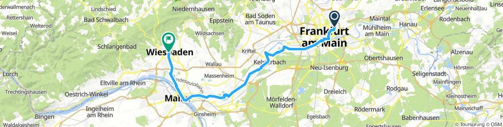 Sommertour nach Wiesbaden