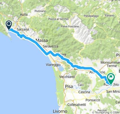 8. La Spezia - Fucecchio