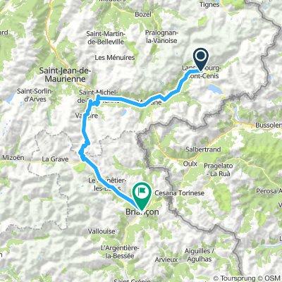 Lanslebourg-Mont-Cenis/Briancon