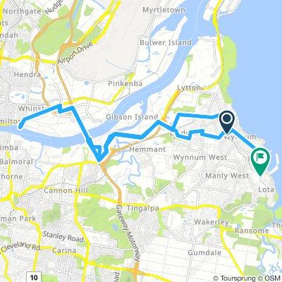 Extensive Sunday Route In Wynnum
