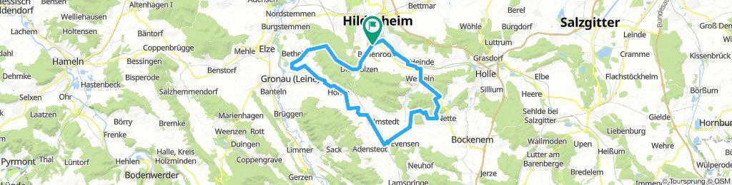 Hildesheim nach Upstedt