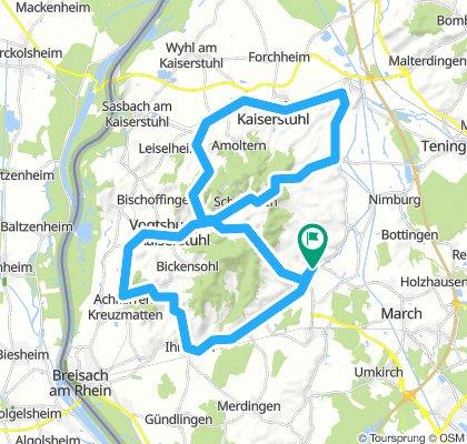 Tour 1 - Kaiserstuhlpässe