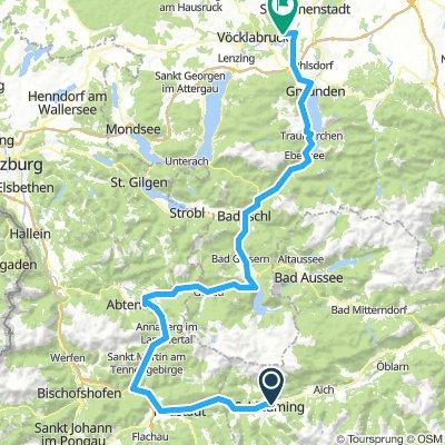 Schladming - Bad Ischl - Gmunden - Attnang Puchheim
