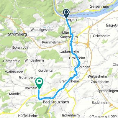 Route In Bingen Am Rhein / Niclas