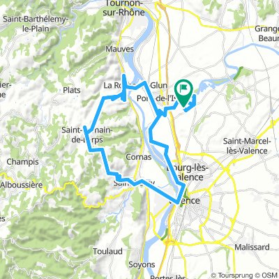 Bergtour bei Valence