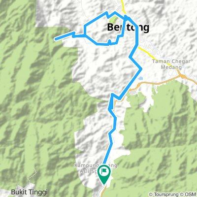 Bentong Hot Spring to Chamang Waterfall