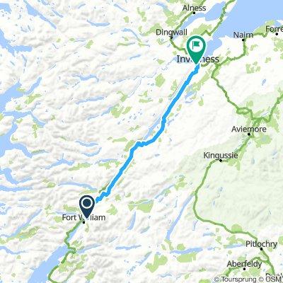 Dag 05 Fort William - Inverness
