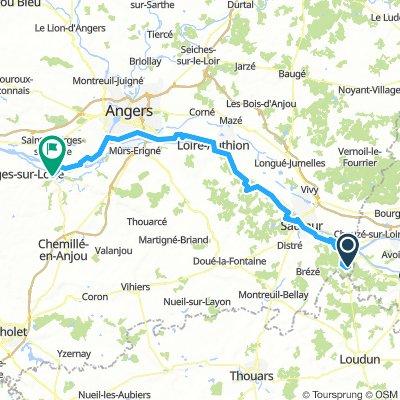 12 - Fontevraud l'Abbaye - Chalonnes