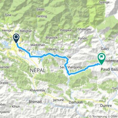 Pokhara - Sundar Basar