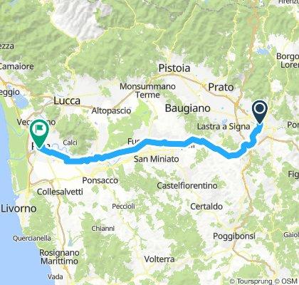 Toscana 3. strandolás nélkül