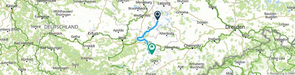 Elster-Radweg (Tag 2)