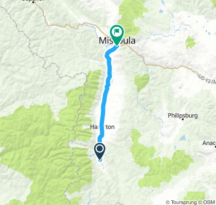 Darby to Missoula, MT
