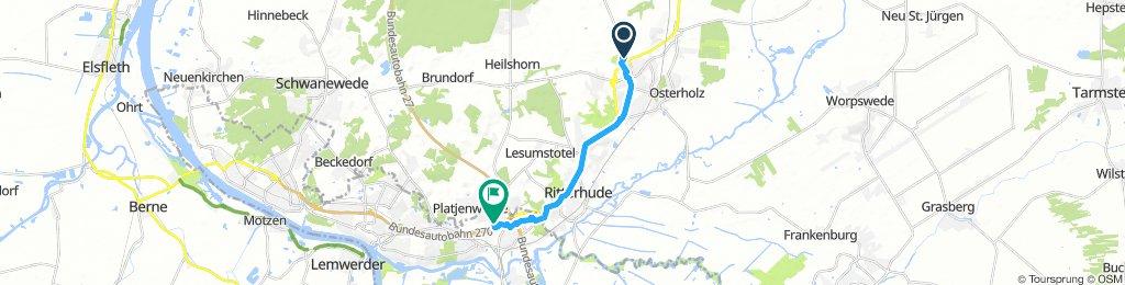 Slow Dienstag Course In Osterholz-Scharmbeck zur Arbeit
