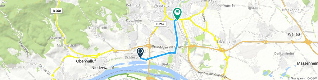 Steady Dienstag Route In Wiesbaden