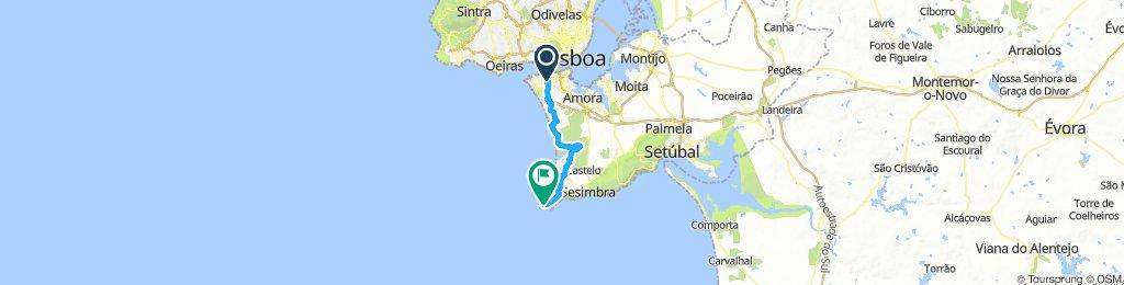 Monte-Fonte-Cabo Espichel ?
