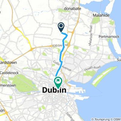 Dublin Airport - Connolly Train Station 10.5km