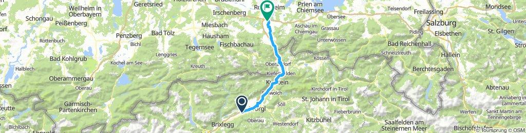 Inn - Radweg: 2. Tag