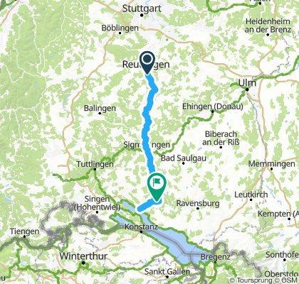 Haus Sonntag (T120): Pfullingen - Überlingen - Leustetten