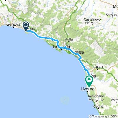 Un Salto All'Isola D'Elba Seconda Tappa Camogli - Livorno