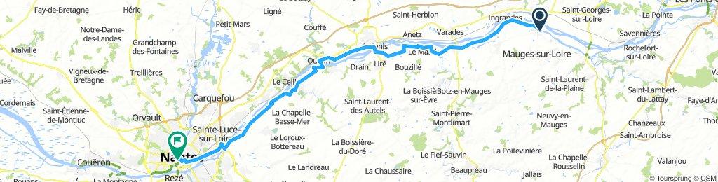 Montjean sur Loire Nantes