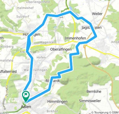 Bucher Stausee über Röthardt