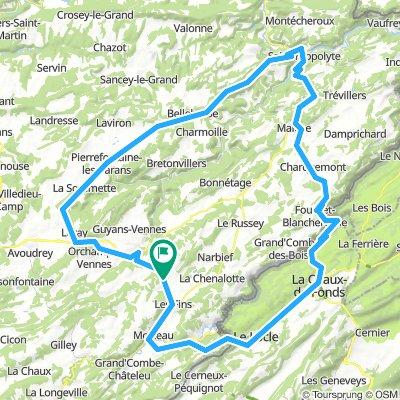 Sortie route à faire fin juin début juillet modifié 131 km