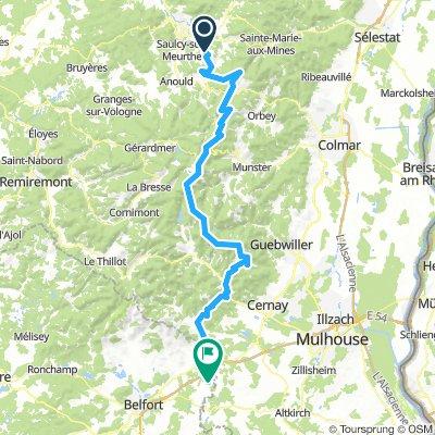 5ème étape Fouchal - Vauthiermont