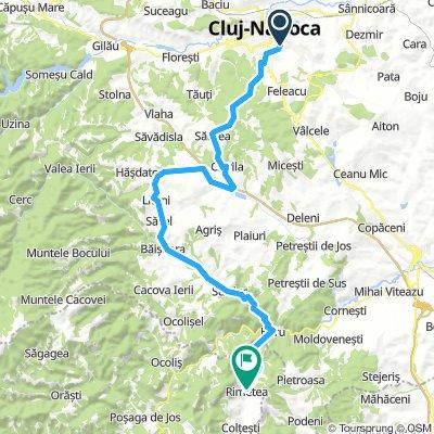Cj - Rimetea, road-bike edition