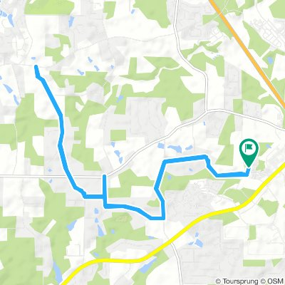 Moderate Wednesday Ride In Mcdonough