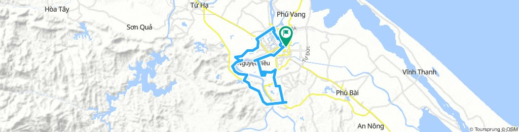 Cycling around Hue