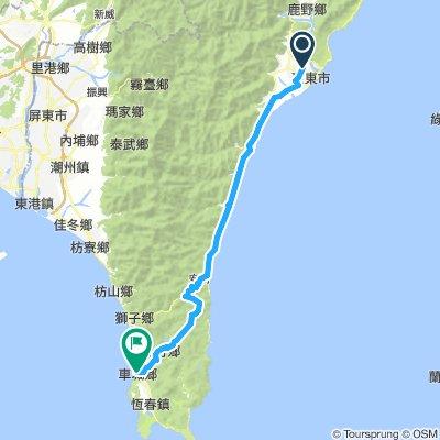 D5-台東-大武-壽卡-牡丹-車城