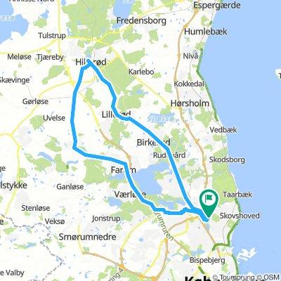 Skovruten - Gentofte | Bikemap - Your bike routes